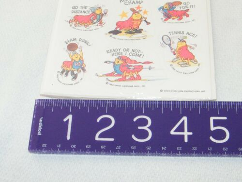 of Choice Animal. Dog Koala Bird Barney New Vintage Hallmark Stickers