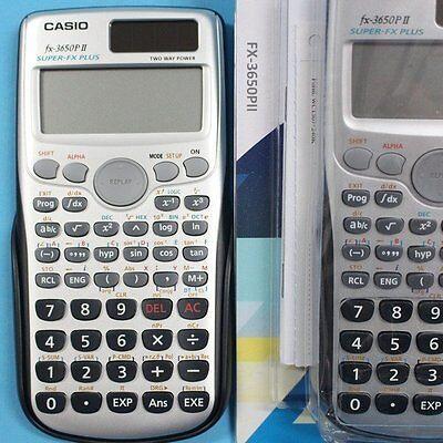 CASIO Fx-3650p II programmable scientific calculator 2 Line Dspl'y Multi  Replay 4971850902171   eBay
