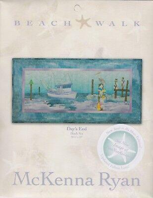 McKenna Ryan, Beach Walk Quilt Block Pattern Series, Day's End - Block 6