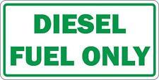 Adesivi adesivo sticker moto auto diesel only carburante benzina gasolio verde