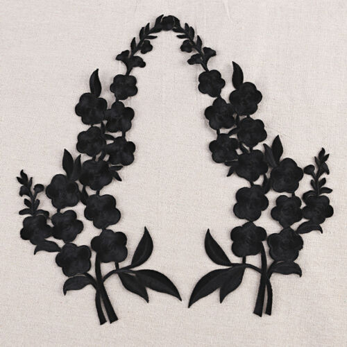 Embroidery Blossom Flower Sew Iron On Patch Badge Jeans Dress Applique Craft DIY