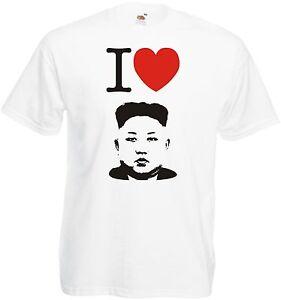 Kim-Jong-ONU-CAMISETA-I-LOVE-Kim-jong-un-Corazon-NORTE-Korea