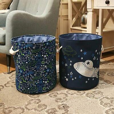 Large Storage Laundry Hamper Basket Bucket Bin Kids Toy Clothes Organizer Decor