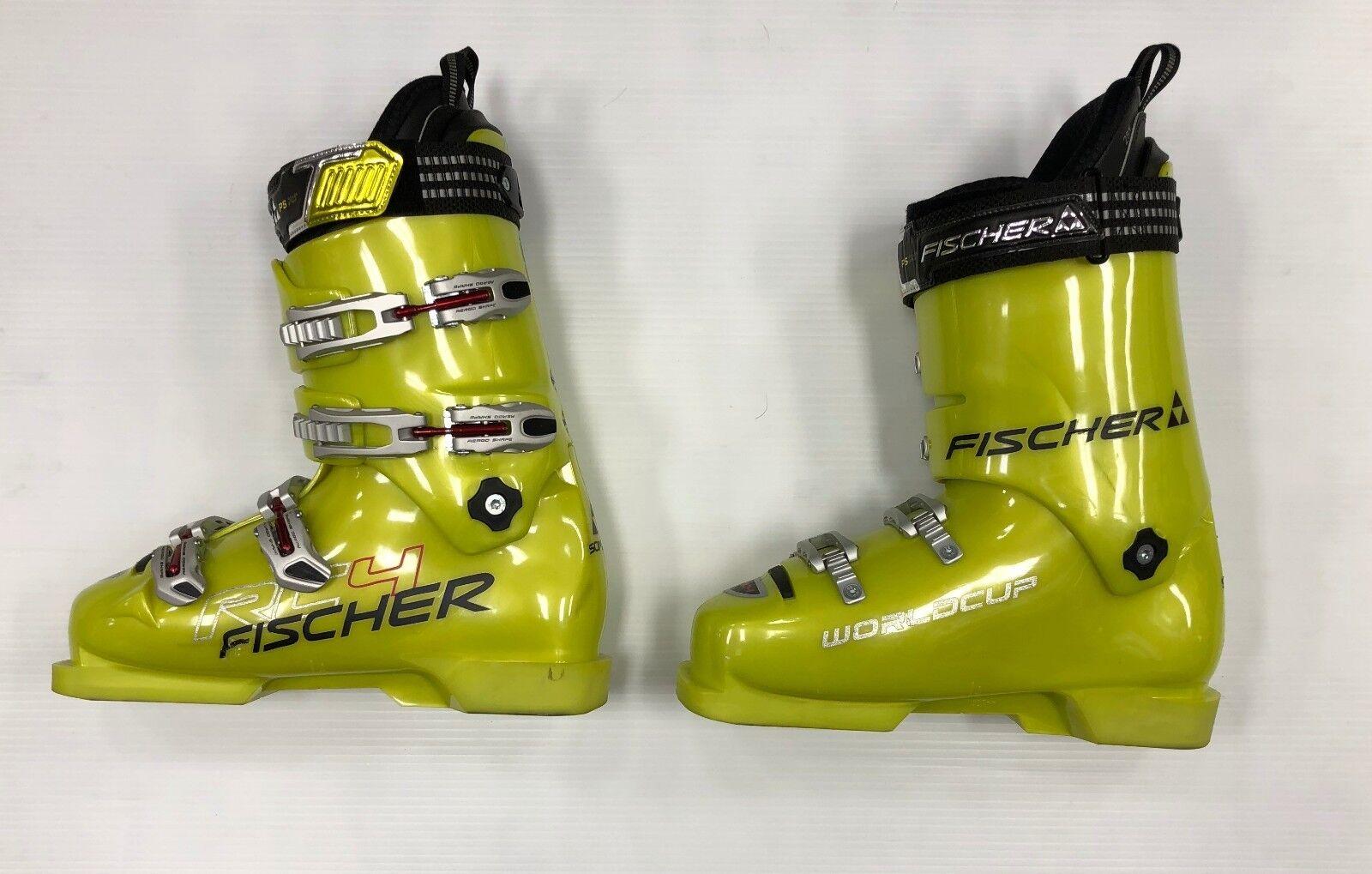 New Fischer RC4 Soma 130 Pro downhill ski Stiefel Größe 28.5 alpine race Stiefel