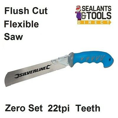 Silverline Joiners Flush Fine Cut Dowel Hand Saw 633559 Trimming Saw