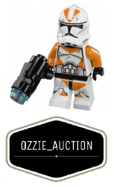 Lego Star Wars 212th Clone Trooper Minifigure [75036]