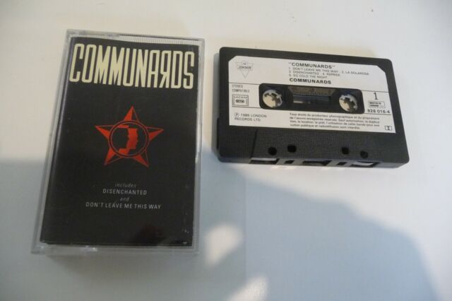 Kommunarden K7 Audio Tape Cassette. Don'T Leave Me This Way. You Are My World