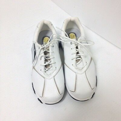 Hi Tec V-Lite Valletta Ladies White/Stone Golf Shoes- Size 5.5 *NEW*