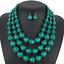 Women-Bohemian-Choker-Chunk-Crystal-Statement-Necklace-Wedding-Jewelry-Set thumbnail 145