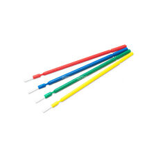 100pcs Easyinsmile Dental Disposable Micro Brush Bendable Applicators 4 Assorted
