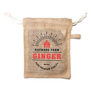 Eddingtons Hayward Fattoria Iuta FIBRA GINGER Borsa-magazzinaggio di prodotti alimentari Store SAC  </span>