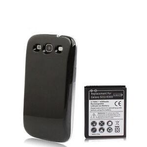 Samsung-Galaxy-S3-i9300-Power-Akku-Batterie-4300mAh-Bumper-Cover-schwarz