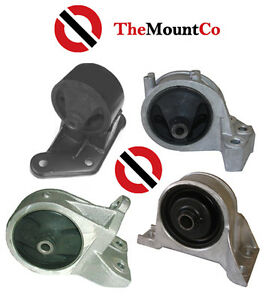 Front /& Rear A//M Engine Mount Set To Suit Nissan Patrol GQ 3.0L,4.2L 88-97