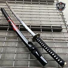 Japanese Samurai Sword KATANA High Carbon Steel Ninja Blade BLACK Dragon Tang