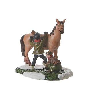 LUVILLE-Horse-Riding-261-Weihnachtsdorf-Modellbau-Reiterhof