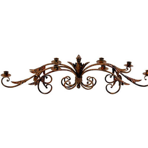 Wrought Iron Candle Holder 35 x9 x8  - 89850