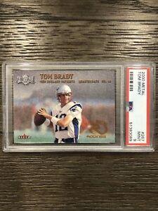 2000-Metal-Tom-Brady-PSA-9-Rookie-Rc-Mint-Rare-Metal-Rookies-267