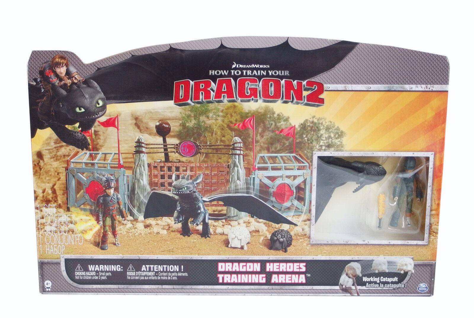 Dragons Trainingsarena Arena Arena Arena Training set Playset dreamworks spin master dragon 8bfe3f