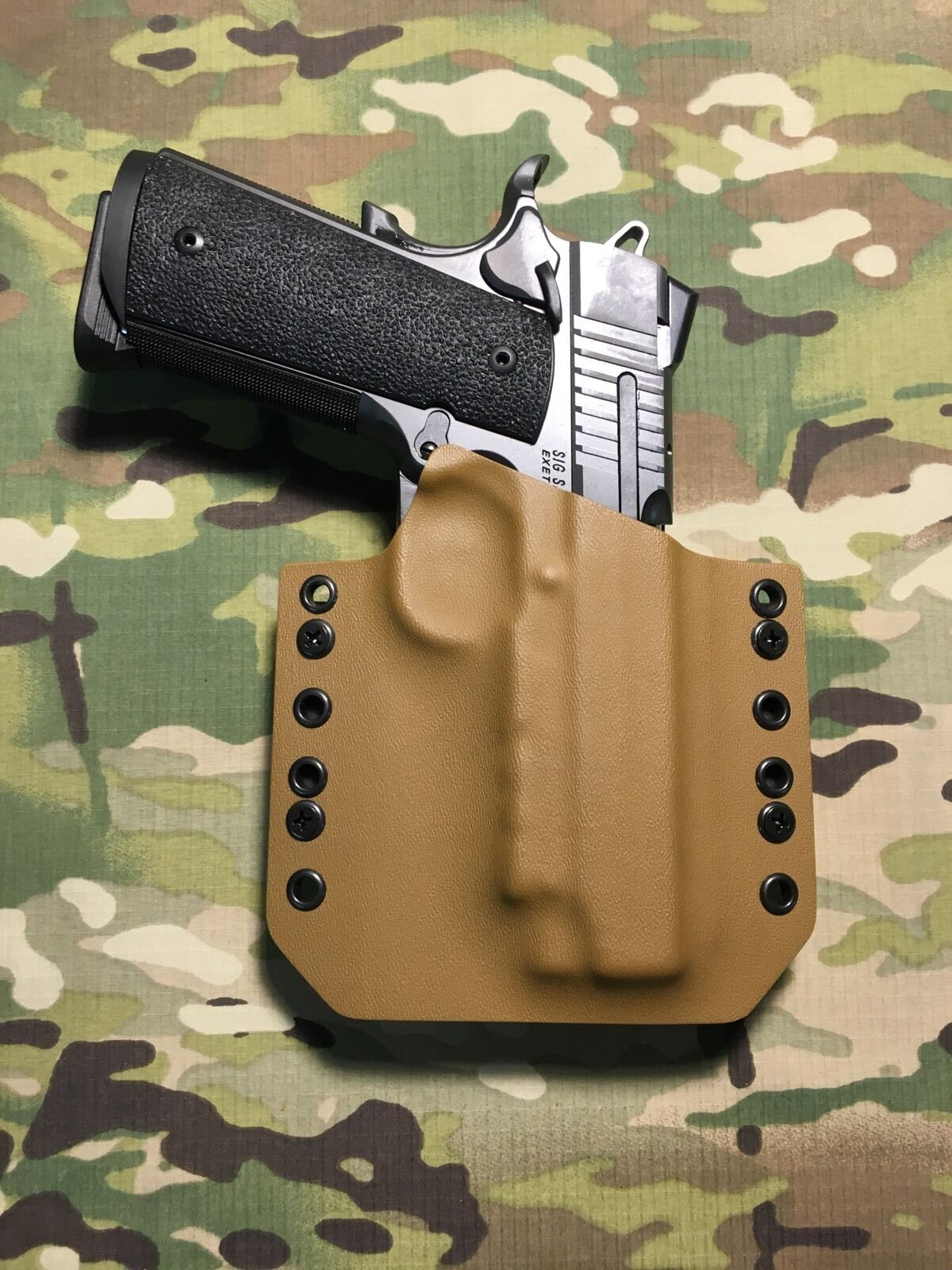 Coyote Tan Kydex Holster Traditional 4.25