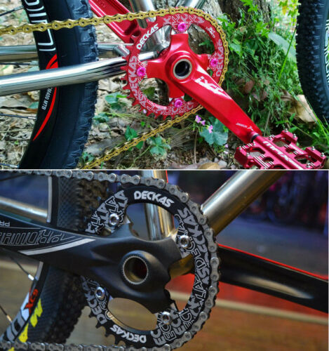 104mmBCD 32T-52T Chainring MTB Bike Narrow Wide Single Speed Bicycle Chainwheel