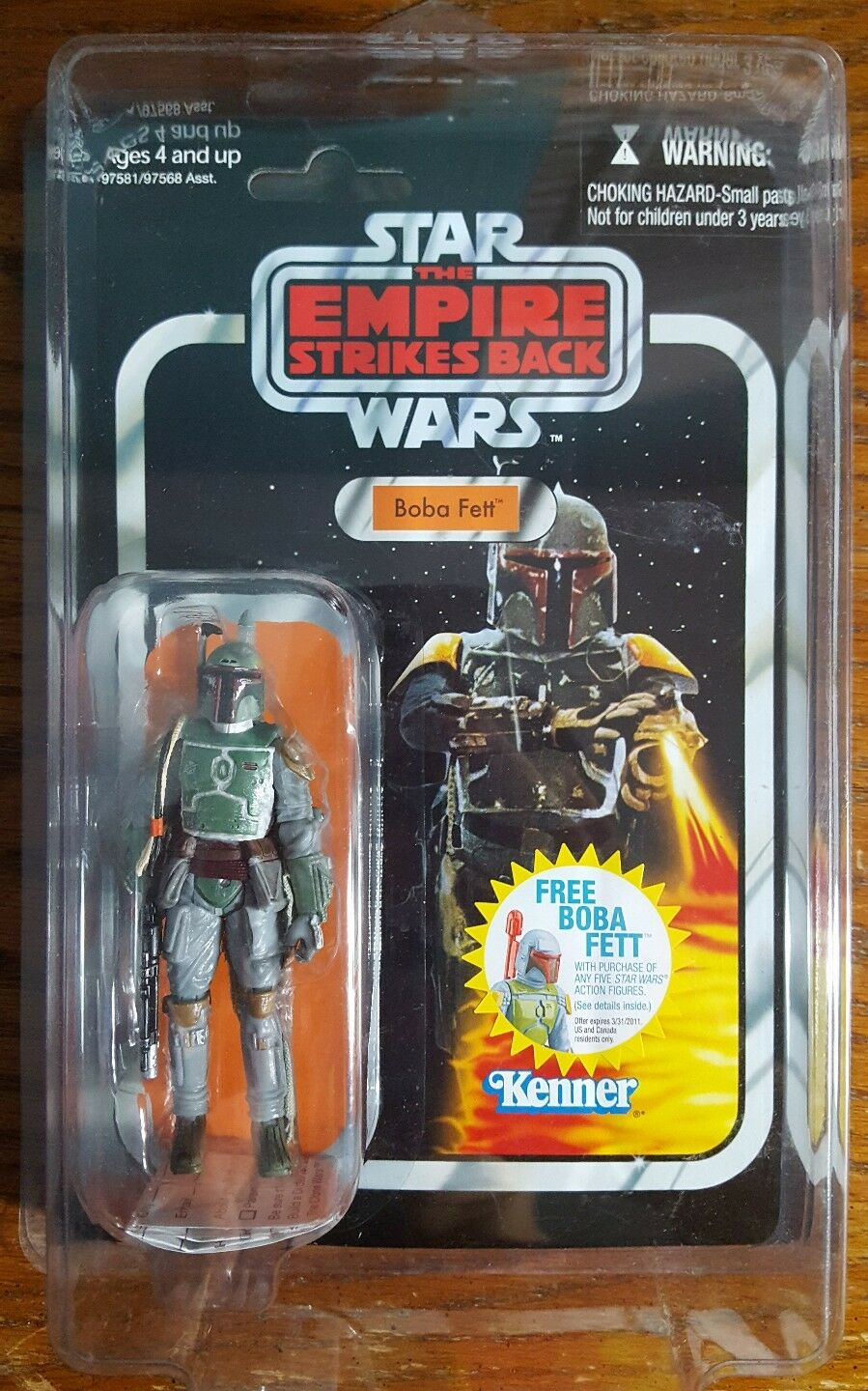 Star Wars Vintage Collection Figure Boba Fett VC09 MOC