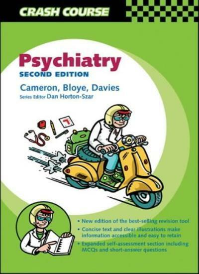 Crash Course:  Psychiatry (Crash Course-UK) By Alasdair Cameron .9780723433408