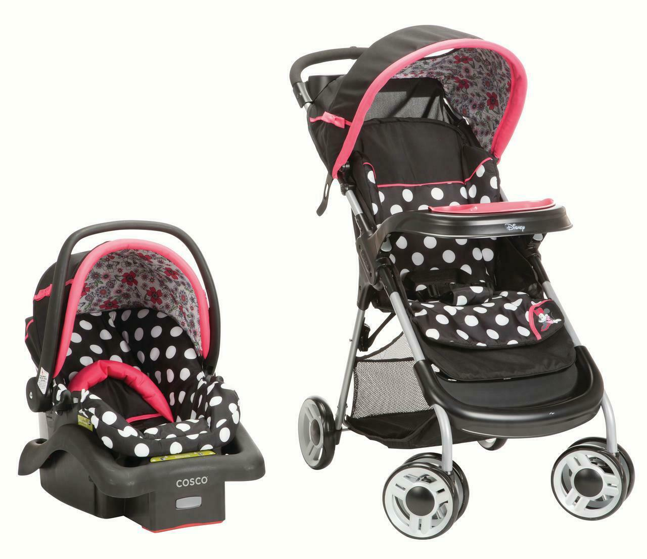 Travel System Baby Girl Lightweight Infant Car Seat ...