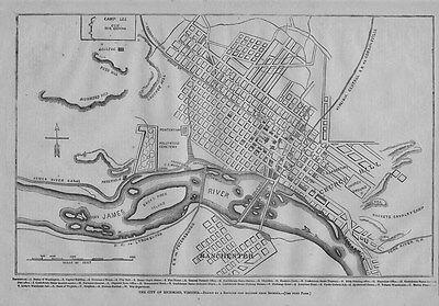 US CONFEDERATE STATES 1862 FL MAP Leesburg Leisure City Lighthouse Point HISTORY