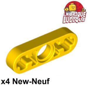 4x Liftarm 1x3 thin mince gris foncé//dark bluish gray 6632 NEUF Lego Technic