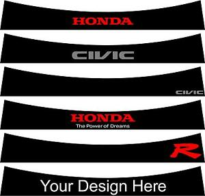 Pre-Cut-Sunstrip-for-Honda-Civic-Mk-8-2006-to-2010-no-trimming-required
