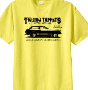 /'Ticking Tappets Garage Services/' t-shirt Austin 1800