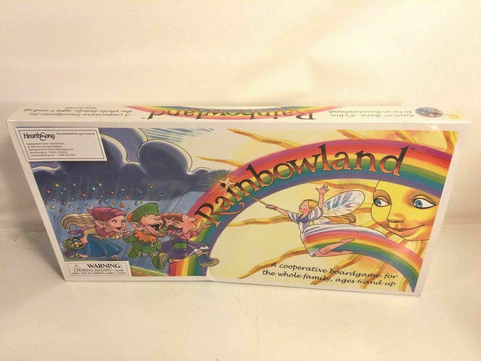 Rainbowland Cooperative Boardgame Kolsbun Family Game New In Box Rare