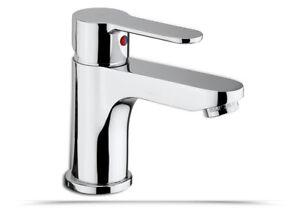 Miscelatore-lavabo-Paffoni-Blu-BLU075CR-ottone-cromato-con-piletta-e-salterello