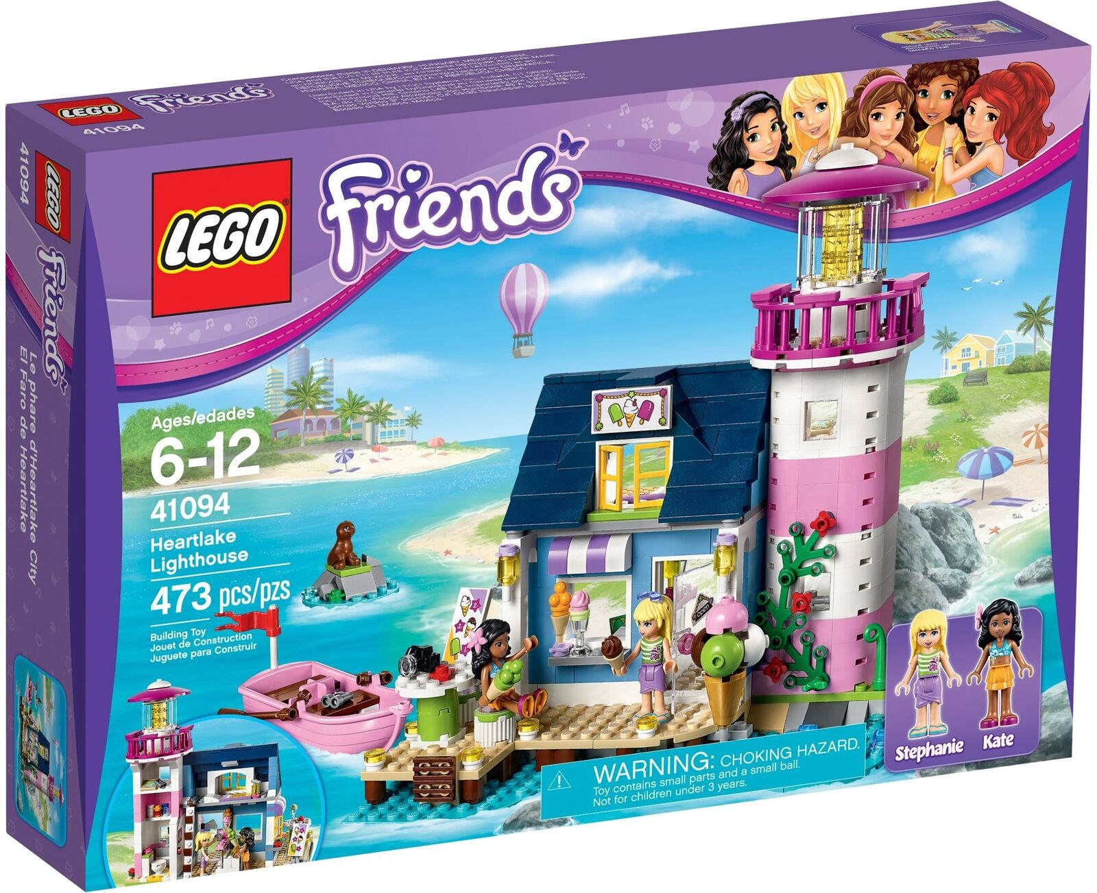 LEGO 41094 Friends HEARTLAKE LIGHTHOUSE - NEW MISB