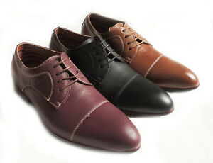 03127e31d189d Details about NEW * FERRO ALDO * MENS LACE UP OXFORDS LEATHER LINED WING  TIP DRESS SHOES