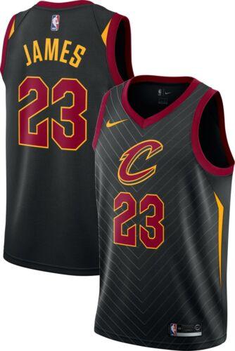 NBA basketbal Lebron James Nº 23 Jersey Noir Cleveland Cavaliers jersey shirt