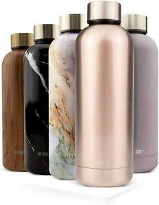 MAMEIDO Thermosflasche Edelstahl [NEU] - Rosé Quartz 500ml - auslaufsicher