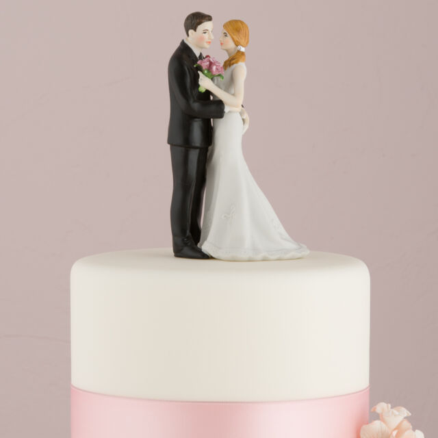 """Main Squeeze"" Couple Wedding Cake Topper COMPLETE COLOR CUSTOMIZATION Avail."