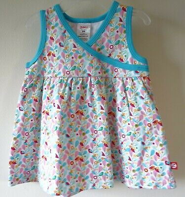 BNWT Zutano Floral /& Stripe Skirted Bubble Girl/'s Size 6 Month