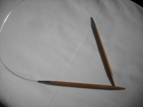 "24/"" HiyaHiya 4.0mm x 60cm Bamboo Circular Knitting Needles"