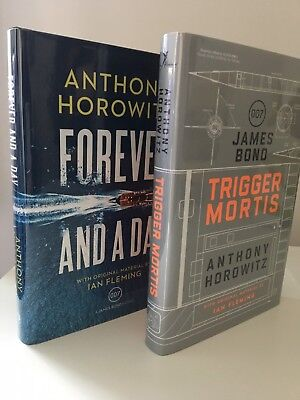 TRIGGER MORTIS & FOREVER AND A DAY,Anthony Horowitz- K 1st /1st match low # set | eBay