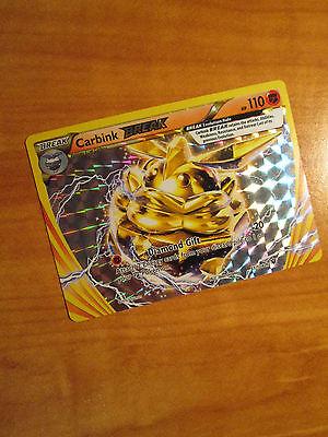 Pokemon TCG Carbink BREAK 51//124 XY Fates Collide ULTRA RARE Holo NM//M
