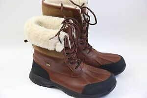 #12 UGG Bute Shearling Lined Water Proof Boots Size 11