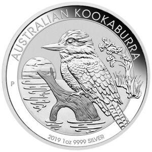 2019-P-Australia-1-oz-Silver-Kookaburra-1-Coin-GEM-BU-SKU55380
