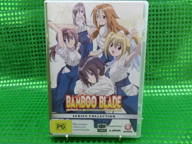 Bamboo Blade: Complete Series DVD Aus Ver Reg  4