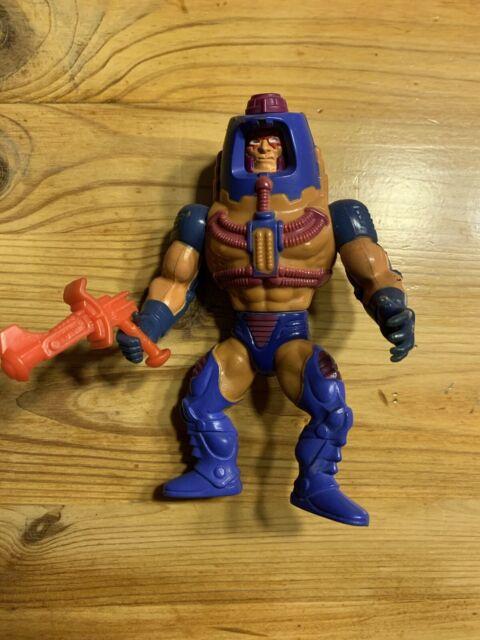 1982 Vintage Mattel He-man Man E Faces Figurine Toys MOTU