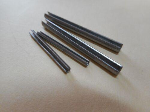 10 Stück  Spannstifte//Spannhülsen schwere Ausführung DIN1481 Ø 4 mm