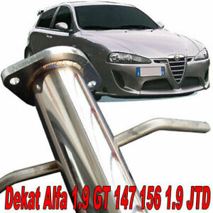 ALFA-ROMEO-1-9-JTD-147-156-GT-gt-115-120-140-150-170-PS-downpipe-DEKAT-T12