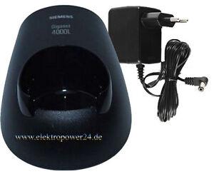 Ladeschale-mit-Netzteil-Siemens-Gigaset-4000-L-comfort-Classic-4010-4015