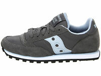 mens saucony light grey jazz low pro trainers size 11 mens running new